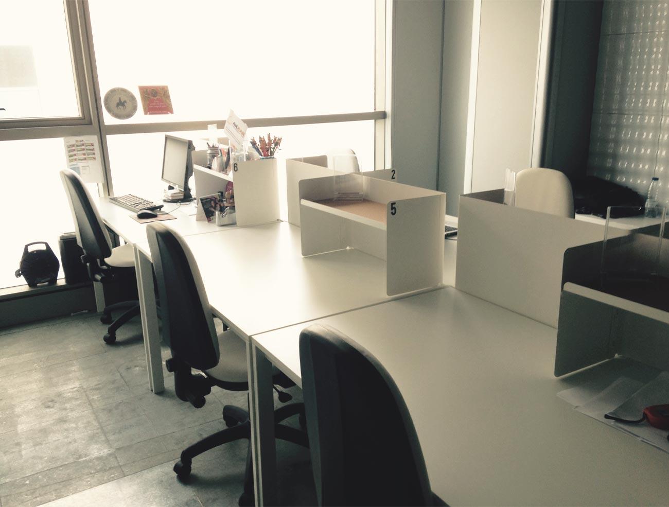 mesas del coworking