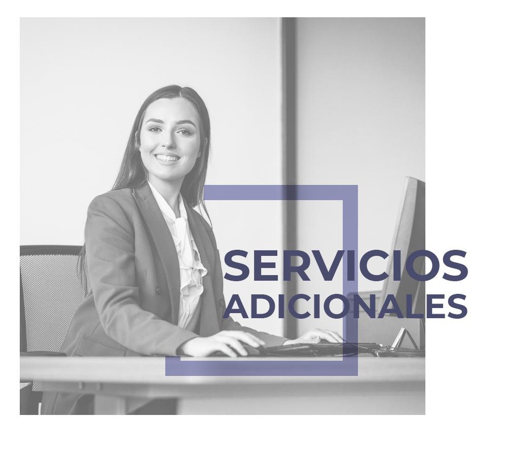 Servicios adicionales para la oficina virtual